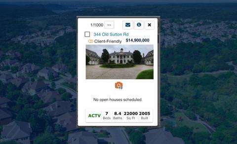After redesign: Mobile Listing Details