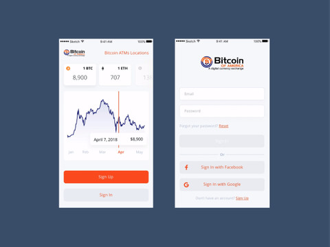 After redesign: Mobile App