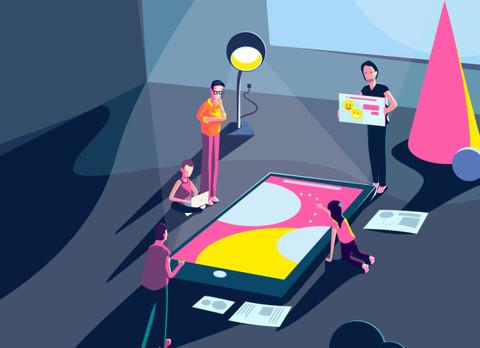 ux4sight team illustration