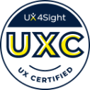 ux4sight certified logo